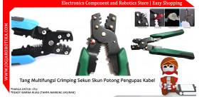 Tang Multifungsi Crimping Sekun Skun Potong Pengupas Kabel