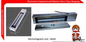 Magnetic Electric Door Lock Electromagnetic Lock 280Kg 600Lbs 12V