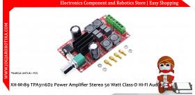 XH-M189 TPA3116D2 Power Amplifier Stereo 50 Watt Class-D Hi-Fi Audio