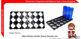 18650 Battery Holder Spacer Bracket 3x6