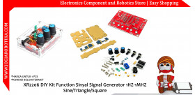 XR2206 DIY Kit Function Sinyal Signal Generator 1HZ-1MHZ Sine/Triangle/Square