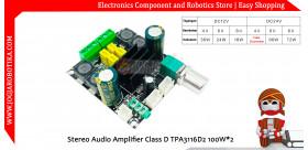 Stereo Audio Amplifier Class D TPA3116D2 2*100W
