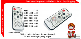 SCM 51 20 Key Infrared Remote Control for Arduino Project/MP3 Player