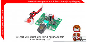XH-A158 Ultra Clear Bluetooth 5.0 Power Amplifier Board PAM8403 2x5W