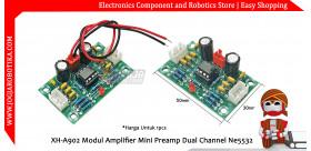 XH-A902 Modul Amplifier Mini Preamp Dual Channel Ne5532