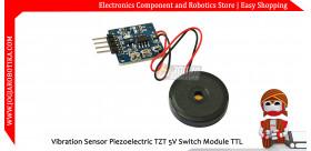 Vibration Sensor Piezoelectric TZT 5V Switch Module TTL