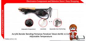 Acrylik Bender Bending Pemanas Penekuk Tekuk Akrilik 10 Cm Adjustable Temperature