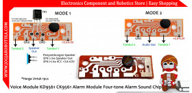 Voice Module KD9561 CK9561 Alarm Module Four-tone Alarm Sound Chip