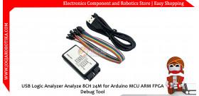 USB Logic Analyzer Analyze 8CH 24M for Arduino MCU ARM FPGA Debug Tool