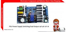 PSU Power Supply Switching Dual Output 24V 4A 12V 1A