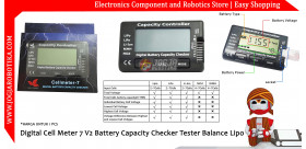 Digital Cell Meter 7 V2 Battery Capacity Checker Tester Balance Lipo