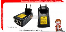 POE Adaptor Ethernet 48V 0.5A