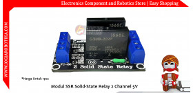 Modul SSR Solid-State Relay 2 Channel 5V