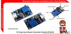DC-DC Step Up 2A Boost Converter Module MT3608 with Micro USB