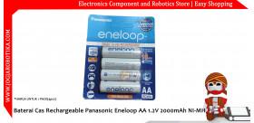 Baterai Cas Rechargeable Panasonic Eneloop AA 1.2V 2000mAh NI-MH