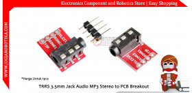 TRRS 3.5mm Jack Audio MP3 Stereo to PCB Breakout