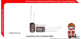 1000uf/25v Elco 10x16mm KMQ