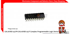 GAL16V8D-25LPN GAL16V8D-25LP Complex Programmable Logic Device