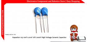 Kapasitor 103 10nF 0.01uF 2KV 2000V High Voltage Ceramic Capacitor