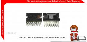 TDA7297 TDA7297SA 10W+10W DUAL BRIDGE AMPLIFIER IC