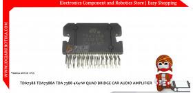 TDA7388 TDA7388A TDA 7388 4X41W QUAD BRIDGE CAR AUDIO AMPLIFIER