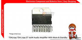 TDA7294 TDA 7294 ST 100W Audio Amplifier With Mute & Standby