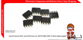 A3120V A3120 HCPL 3120 HCPL3120 2A SOP-8 SMD IGBT IC Drive Optocoupler