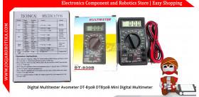 Digital Multitester Avometer DT-830B DT830B Mini Digital Multimeter