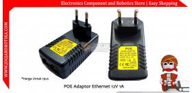 POE Adaptor Ethernet 12V 1A