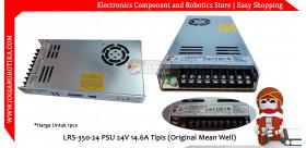 LRS-350-24 PSU 24V 14.6A Tipis (Original Mean Well)