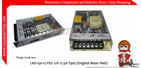 LRS-150-12 PSU 12V 12.5A Tipis (Original Mean Well)