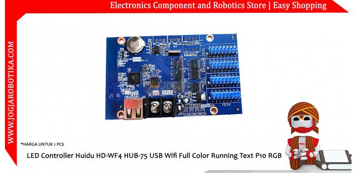 LED Controller Huidu HD-WF4 HUB-75 USB Wifi Full Color Running Text P10 RGB