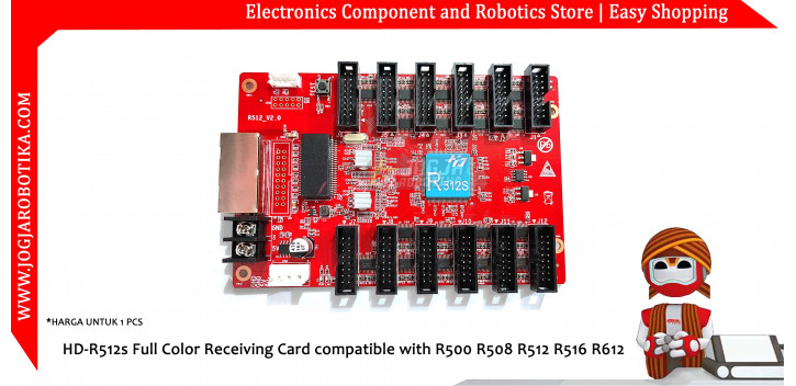 HD-R512s Full Color Receiving Card compatible with R500 R508 R512 R516 R612