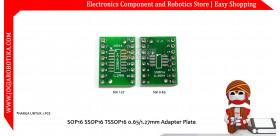 SOP16 SSOP16 TSSOP16 0.65/1.27mm Adapter Plat