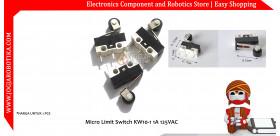 Micro Limit Switch KW10-1 1A 125VAC