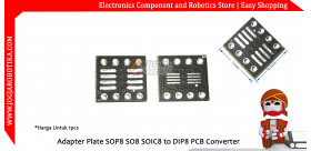 Adapter Plate SOP8 SO8 SOIC8 to DIP8 PCB Converter