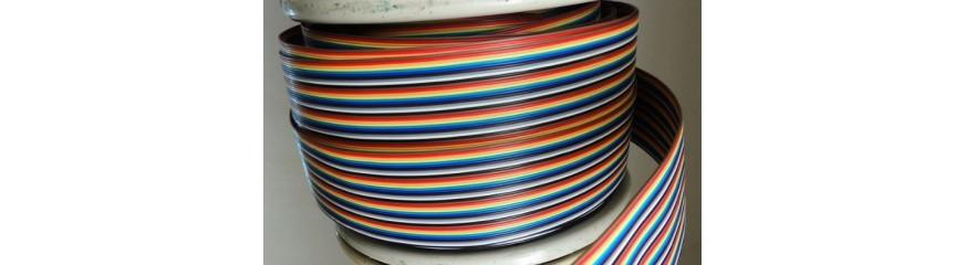 Kabel Meteran ( Flat , Pelangi dll )