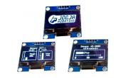 OLED untuk Tampilan Sensor DHT11 dan HC-SR04