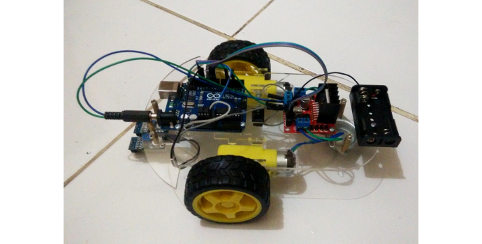 Membuat robot line follower sederhana dengan arduino